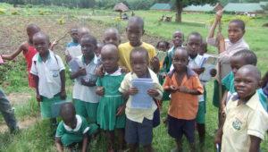 Kinderen uit school
